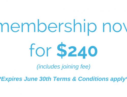 February Pro Rata Membership