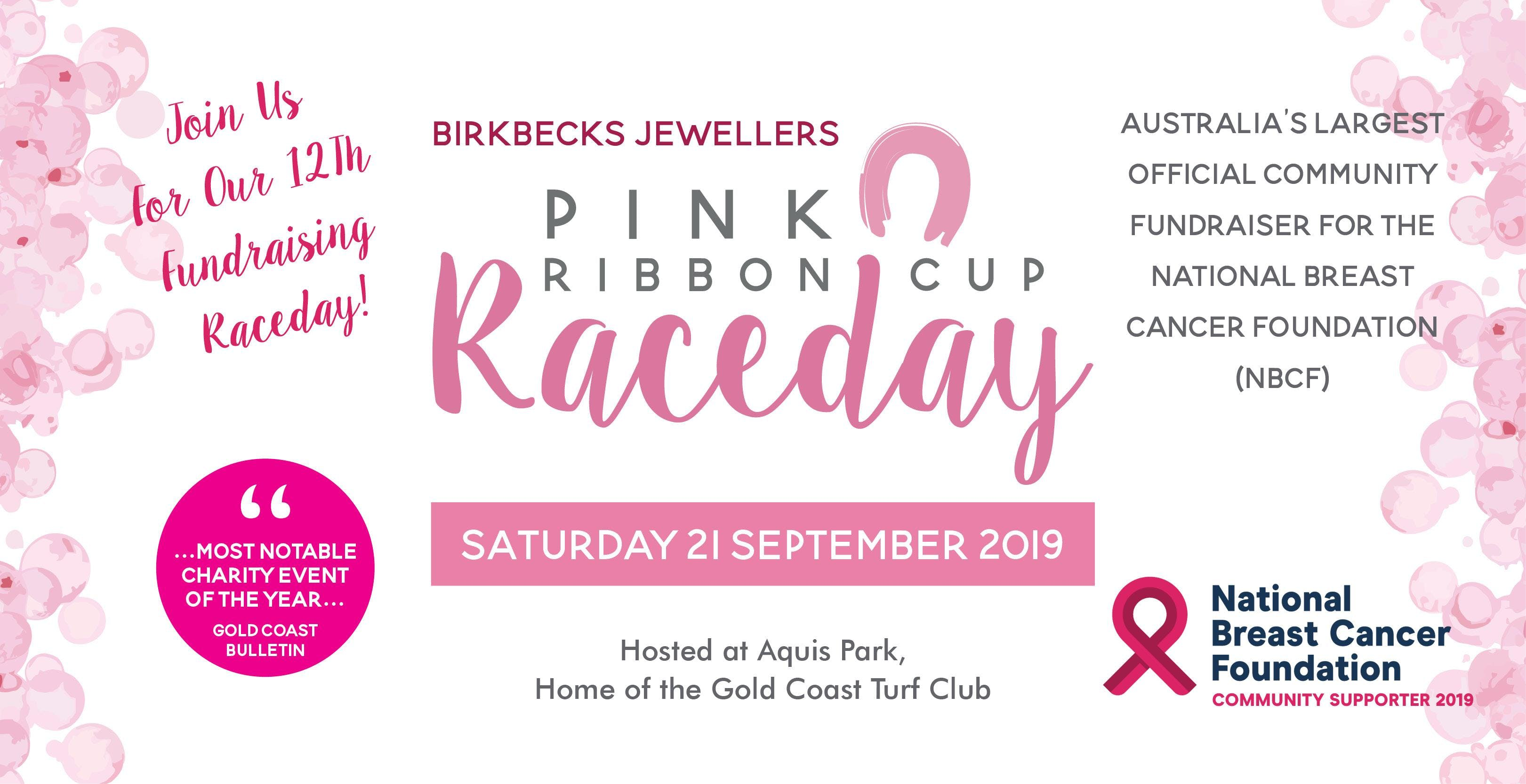NBCF Function Pink Ribbon Cup Raceday - Event Centre - Aquis Gold Coast  Turf Club
